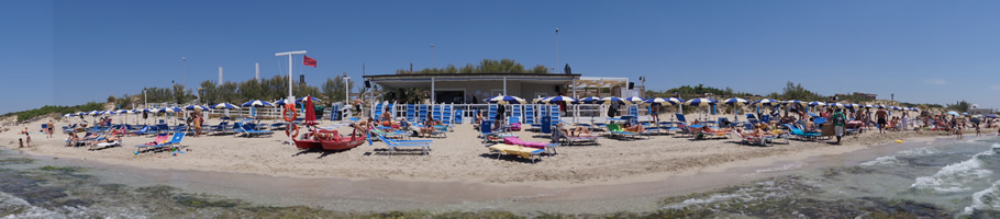 Lido Blue Bay Beach Gallipoli - Stabilimento Balneare nel Salento